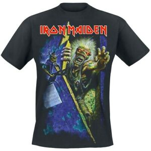 ** Iron Maiden No Prayer for the Fallen T-shirt Official **