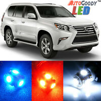 8 x Premium Xenon White LED Lights Interior Package Upgrade for Jeep Compass