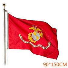 US Army Marine Corps USMC Military Polyster Flag Outdoor Event Decoration Banner
