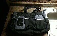 Graco Gotham Diaper Bag Black Gray Large Excellent Condition