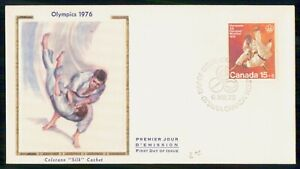 Mayfairstamps CANADA FDC 1975 COVER OLYMPICS JUDO wwk39707