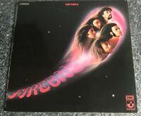 DEEP PURPLE FIREBALL LP GATEFOLD 1ST GERMAN PRESS HARVEST 1971 1C 062-92 726 EX