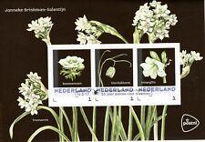Nederland: 2017 - Postset Lentebloemen gestempeld