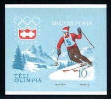 Ungarn MiNr. Block 40 B postfrisch/ MNH Olympiade 1964 Innsbruck (Oly266