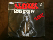 Charisma 7 inch Single MOVE IT ON UP  von G.T.MOORE & THE REGGAE GUITARS (1975)