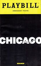 Playbill - Chicago - August 2017 - Dylis Croman, Lana Gordan, Tom Hewitt