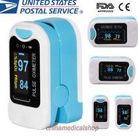 US seller Finger Tip Pulse Oximeter Blood Oxygen Saturation Meter SPO2 Monitor