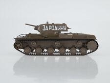 KV-1 Kliment Voroshilov Soviet Heavy Tank USSR 1940 Year 1/43 Scale Model Tank
