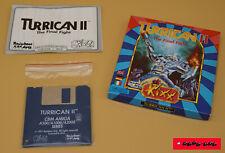 COMMODORE AMIGA / TURRICAN II mit Anleitung & OVP / 1991 / RAINBOW ARTS !!TOP!!