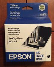 EPSON 820 / 925 Stylus Photo Black Ink Cartridge Exp 1/2009 T026201 C13T026201