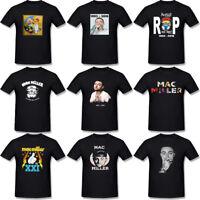 MAC MILLER Rapper Rap Hip Hop Music Men's T-Shirt Black