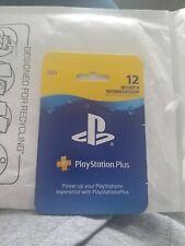 Brand New PlayStation Plus 12 Month Membership