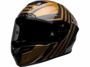 Casque BELL Race Star Flex DLX Mate/Gloss Black/Gold taille L - NEUF