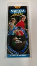 Sabona Athletic Magnetic Bracelet (Blue - Size Small-Medium)