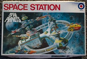 1978 Entex Battle of the Planets Space Station Model Kit 8411 G-Force Free Ship