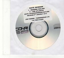 (FU875) Kate Jackson (The Long Blondes) Wonder Feeling/The Atlantic - 2012 DJ CD