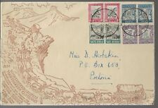 1938 South Africa Voortrekker Issue FDC Cover Large
