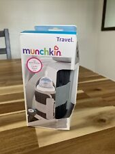 Munchkin Travel Car Baby Bottle Warmer, Grey - NIB - Damaged Packaging