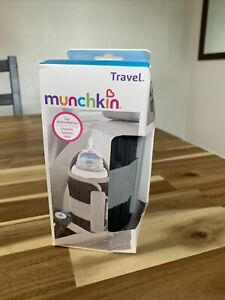 Munchkin Travel Car Baby Bottle Warmer, Grey - NIB - Damaged Packaging