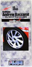 Fujimi TW33 Veilside Andrew Baccarat Wheel & Tire 1/24