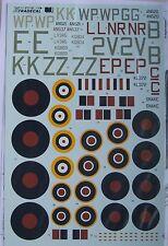 Xtradecal 1/72 X72188 yanks avec insigne circulaire v, raf coastal command heavies