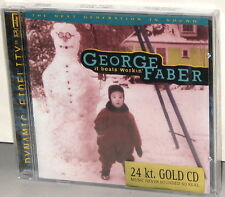 POPE GOLD CD PMG-2023-2: GEORGE FABER - It Beats Workin' - 1998 USA OOP SEALED