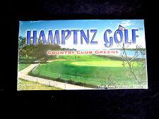 RARE Hamptnz Golf Country Club Greens Game © 1990 Factory Sealed !