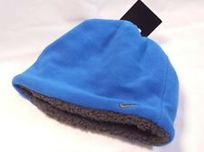 Nike Boys Hat Fleece Beanie (Youth) 8/20 Blue Sapphire