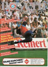 BL 84/85  FC Bayern München - 1. FC Köln