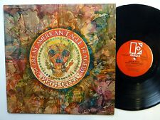 EARTH OPERA Great American Eagle Tragedy LP psych rock 1969 near-MINT    #274
