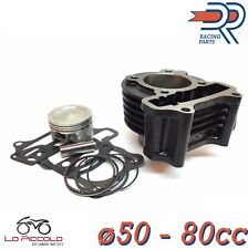 KT00132 GRUPPO TERMICO ø50 CILINDRO DR 80CC BAOTIAN ECO BIKE - REBEL 50 4T