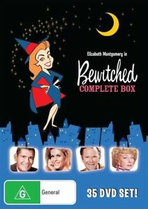 Bewitched Complete Series (DVD, 2016, 35-Disc Set)  REGION 4 LIKE NEW