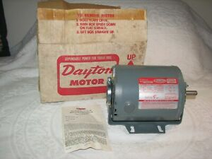New Dayton 5K909 1/3 HP Split Phase 115V 1725 RPM Belted Fan & Blower Motor