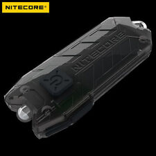 Nitecore Tube 45 Lumens USB Rechargeable Mini Keychain LED Flashlight - Black