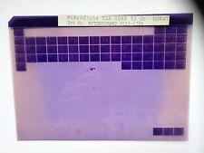 Yamaha TZR 80 RR Microfilm Microfich Catalogue des pièces Pièce rechange