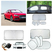 6 pcs Car Side Front  Back Window Sunscreen Sun Shade Visor Cover UV protection