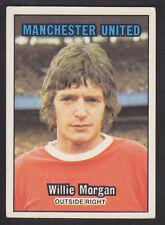 A&BC - Footballers (Orange 85-169) 1970 - # 142 W Morgan - Manchester United