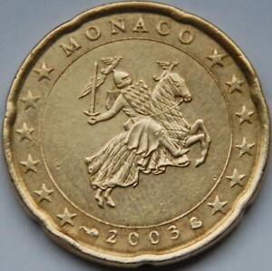 Pièce d'occasion de 20 Cent ( Monaco 2003 )