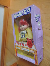 Kool-Aid Kid Man Doll E Goldberger Vintage Red Head Box Collectible Advertising