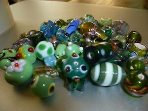LAMPWORK HANDMADE GLASS BEADS