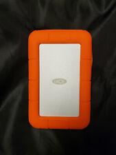 LaCie USB 3.0 Thunderbolt 1TB Rugged Orange External Hard Drive