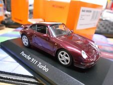 PORSCHE 911 993 Turbo S Coupe 1997 red ro Sonderpreis Maxichamps Minichamps 1:43
