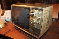 Vintage Retro Zenith Portable Television G1176X Spirit of '76 Bicentennial Works