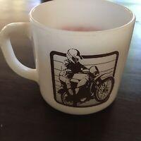 HONDA - Nobody Does It Better - Motorcycle, Dirt bike Coffee mug cup - Retro