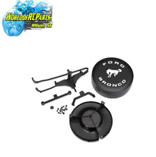 TRA8074 Traxxas Ford Bronco spare tire mount, bracket, spare tire cover