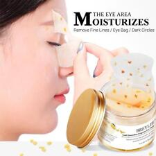 50X/Box Collagen Eye Gel Pad Mask Gold Osmanthus Aging Wrinkle Remover New