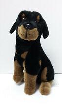 E & J Classic Rottweiler Puppy Dog Plush