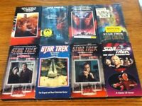 Star trek VHS Tapes-Set of 8, Movies & Episodes Some are New!!