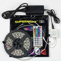 SUPERNIGHT® RGB/White/Red/Green/Blue 5M 3528/5050 SMD 300 LED Strip Lights DC12V