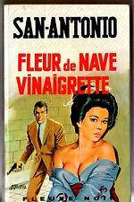SAN-ANTONIO n°293 # FLEUR DE NAVE VINAIGRETTE # 1969 C